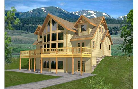 Main image for house plan # 9970