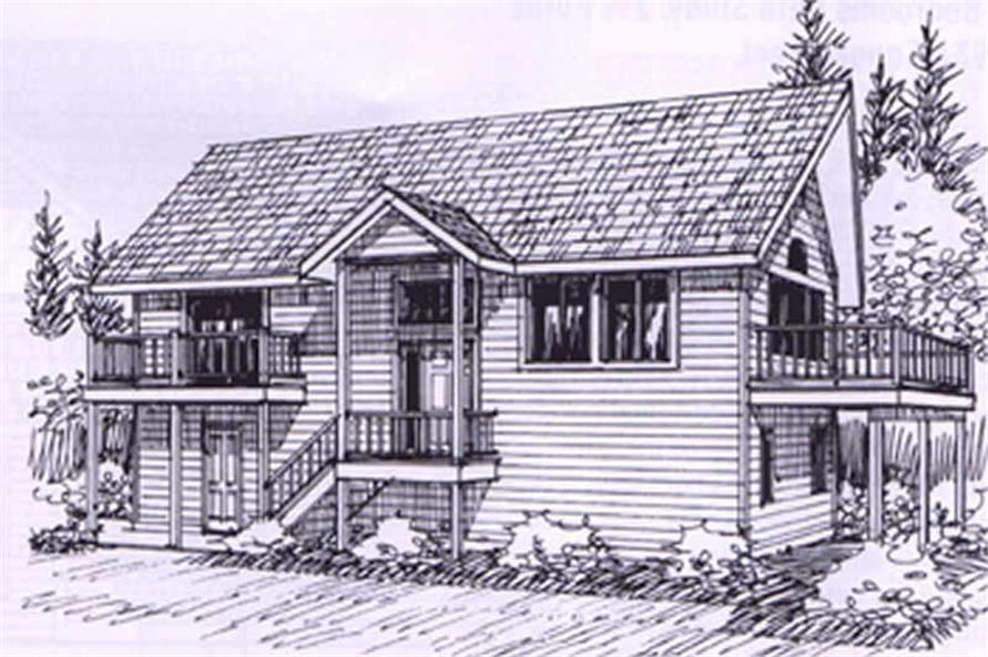 3-Bedroom, 1487 Sq Ft Coastal Home Plan - 132-1316 - Main Exterior