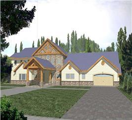 House Plan #132-1324