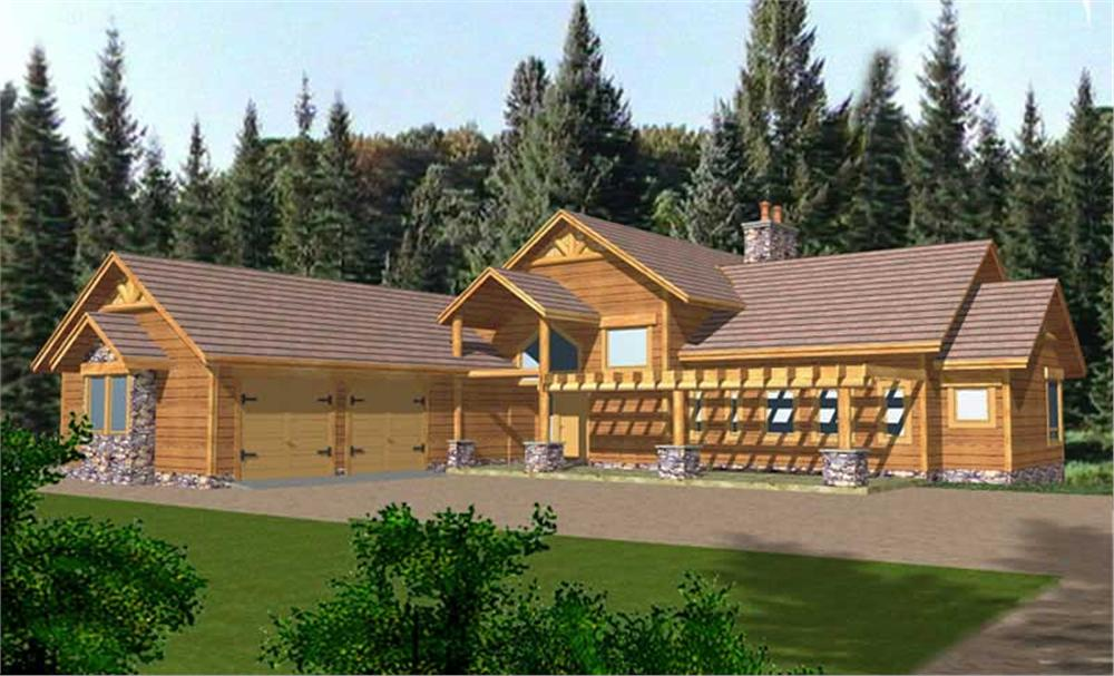 Main image for house plan # 8983