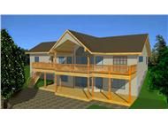 Main image for house plan # 8814