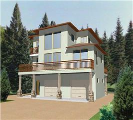 House Plan #132-1339