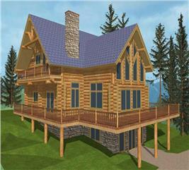 House Plan #132-1342