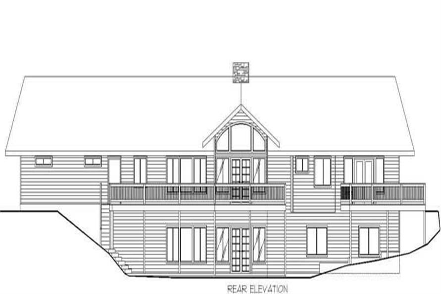 ELEVATION2 of this 2-Bedroom,1845 Sq Ft Plan -1845