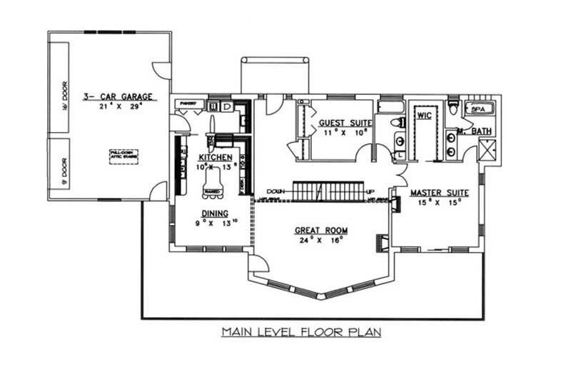 Concrete block icf craftsman home with 1 bdrm 3892 sq for 1350 sq ft house plan