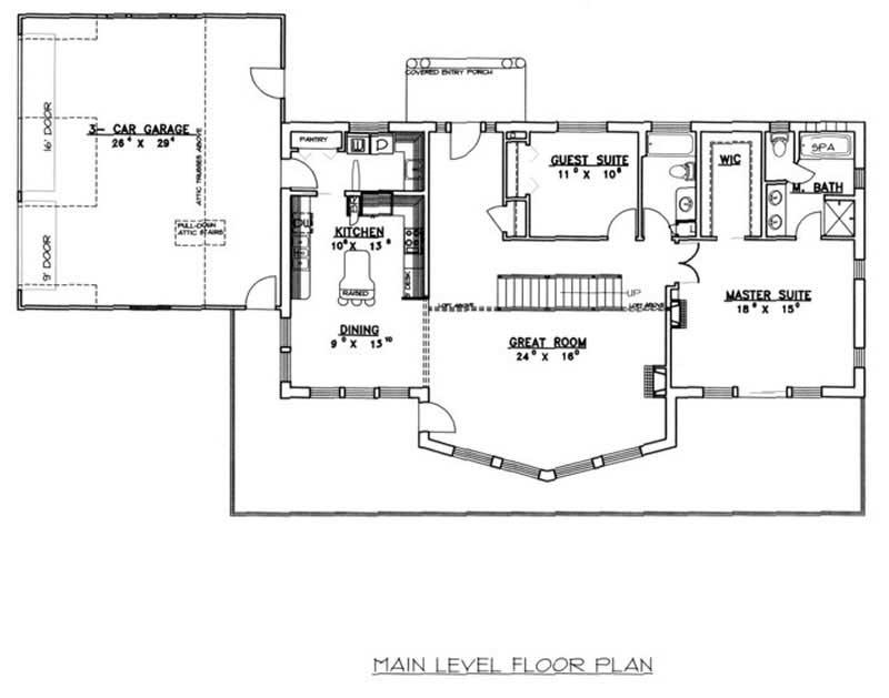 Concrete Block Icf Craftsman Home W 2 Bdrms 2615 Sq Ft