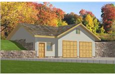 Main image for house plan # 9997