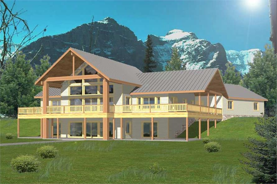Main image for house plan # 9988