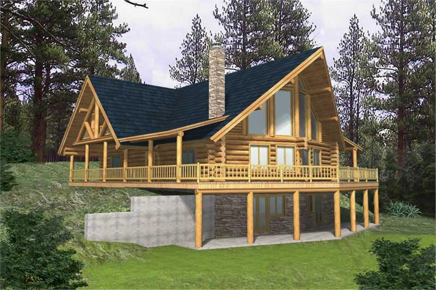 Log Cabins Main Image.