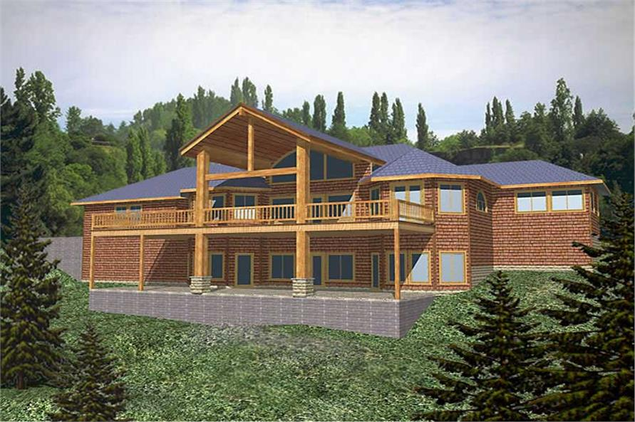Main image for house plan # 8835