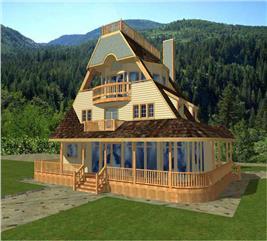 House Plan #132-1364