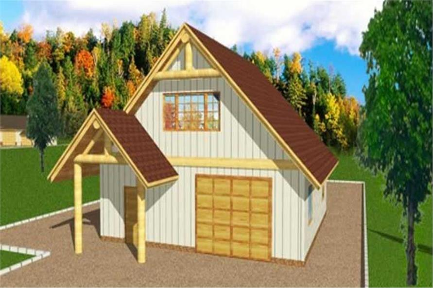 Main image for house plan # 9456
