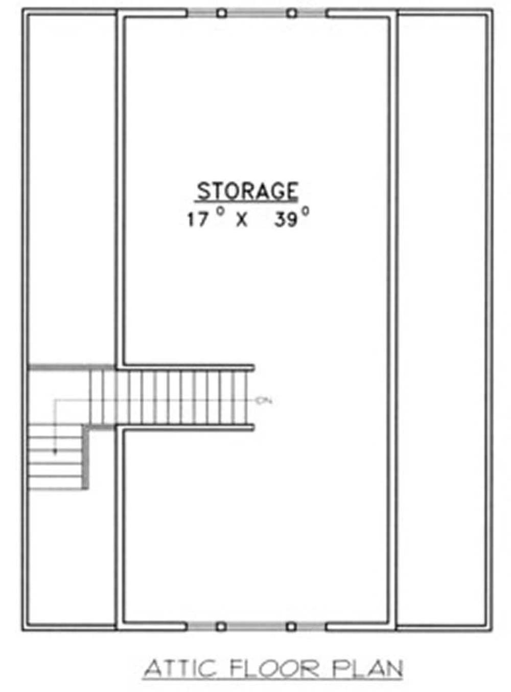 Garage w apartment with 4 car 720 sq ft plan 132 1370 for 720 sq ft apartment floor plan