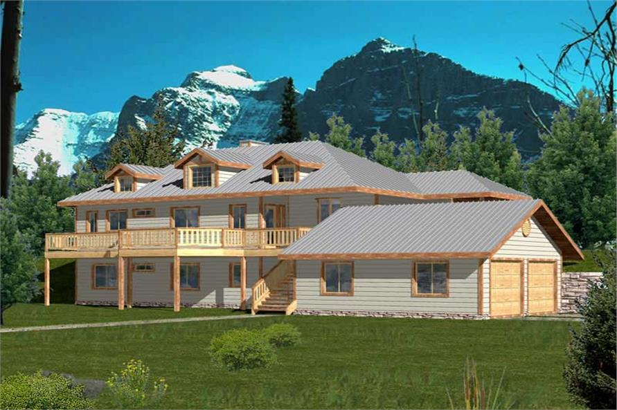 Main image for house plan # 9986