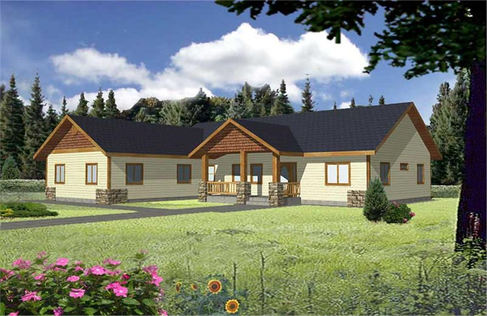Main image for house plan # 9984