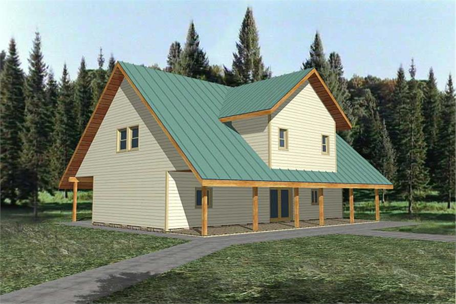 132 1391 this is a computer image of these concrete house plans - Concrete Home Designs