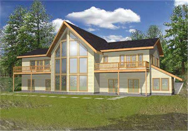 Main image for house plan # 9723