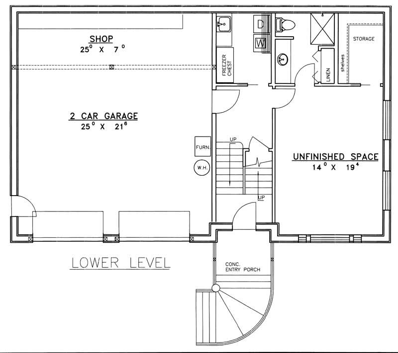 Multi level house plans home design ghd 3024 8784 for Multi level floor plans