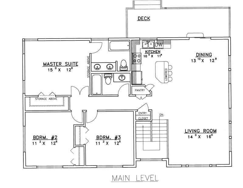 Multi level house plans home design ghd 3024 8784 for Multi level home plans