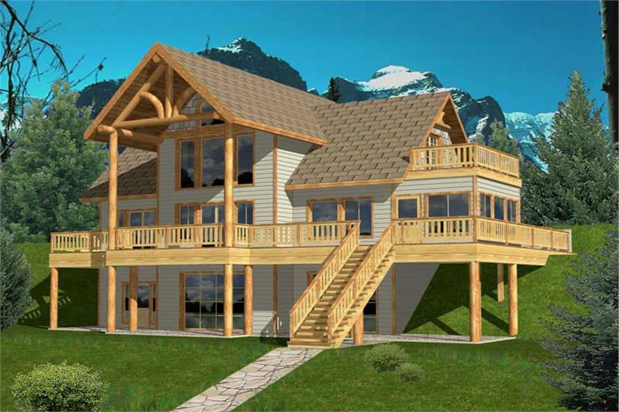 Main image for house plan # 15592