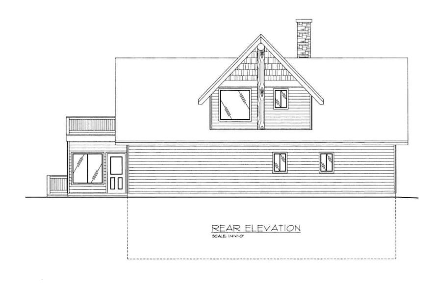 Home Plan Rendering of this 3-Bedroom,2272 Sq Ft Plan -132-1418