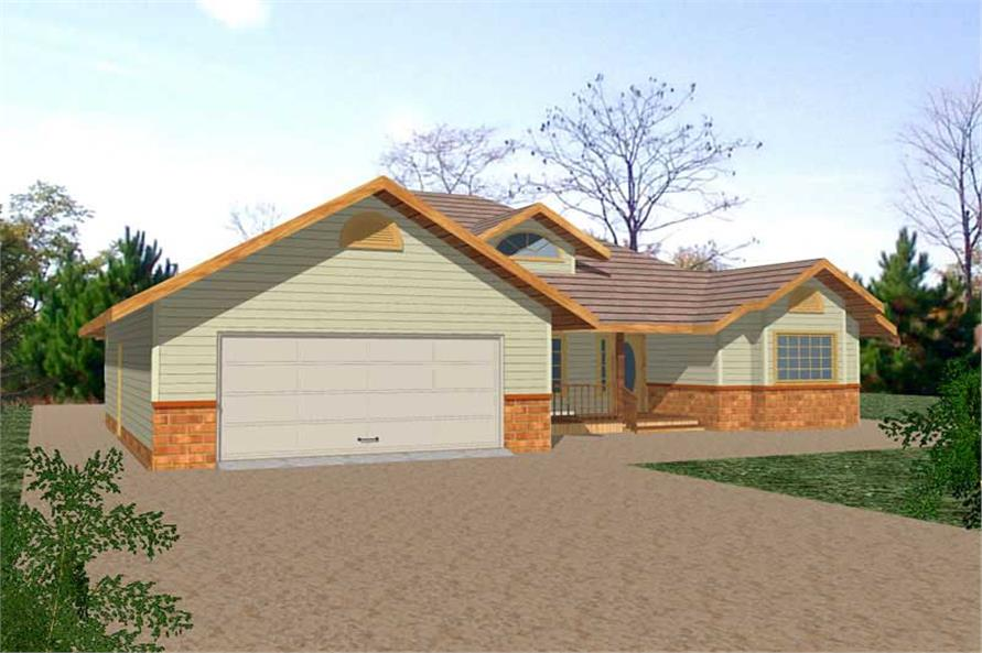 Main image for house plan # 8786