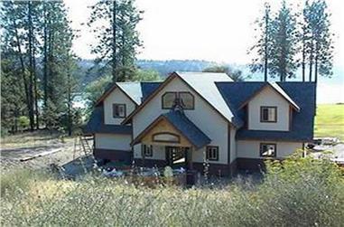 3-Bedroom, 2985 Sq Ft Coastal Home Plan - 132-1421 - Main Exterior