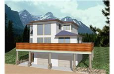 Main image for house plan # 8780