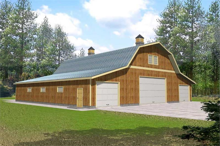 Main image for house plan # 15555