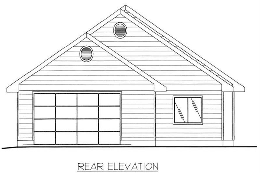 House Plan #132-1445