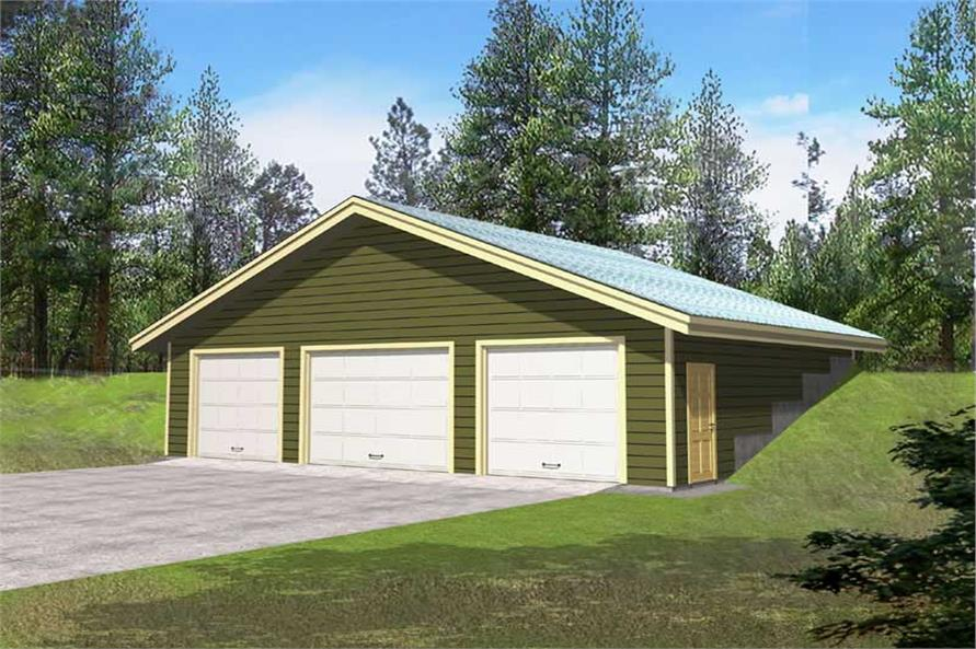Main image for house plan # 15561