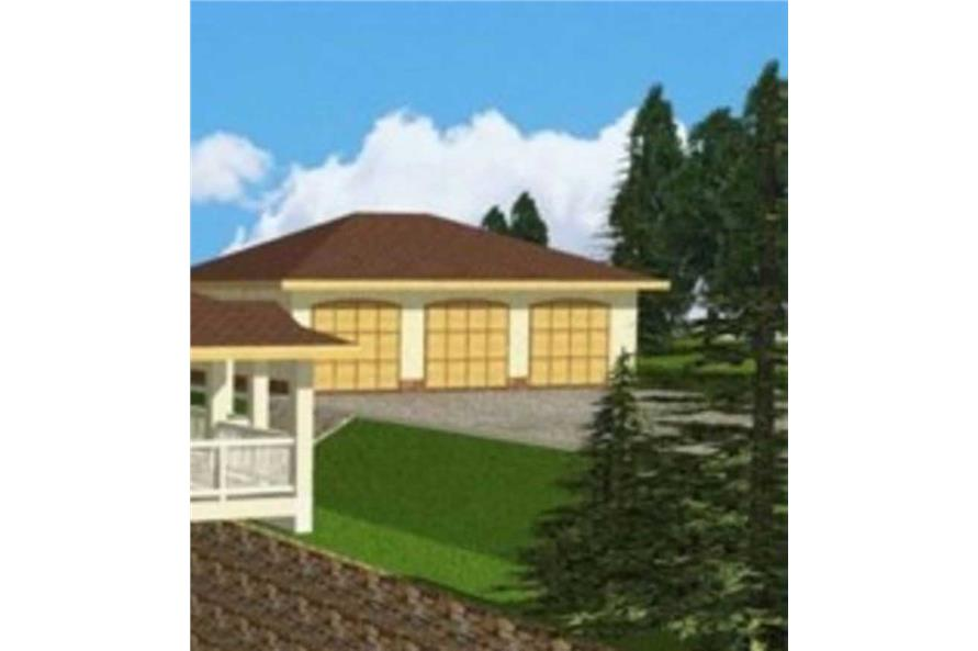 Main image for house plan # 15567