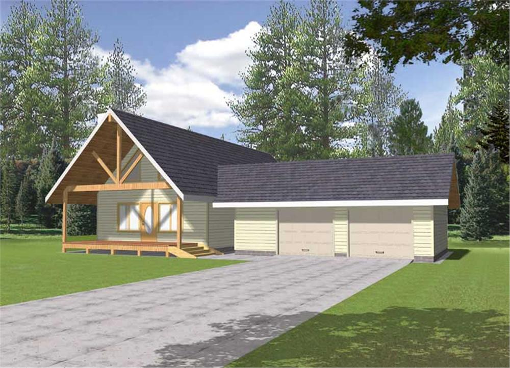 Main image for house plan # 15587