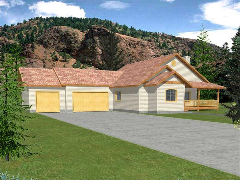 Main image for house plan # 15590