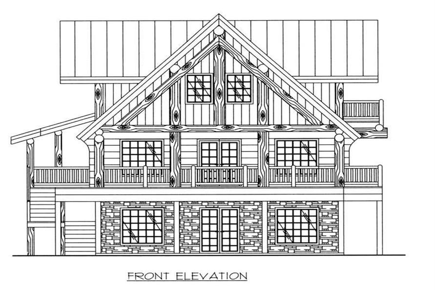 House Plan #132-1463