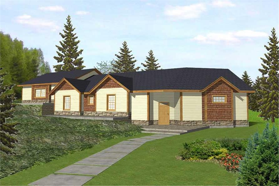 Main image for house plan # 9721
