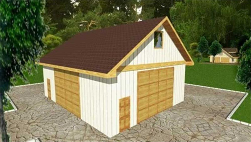 Main image for house plan # 9459