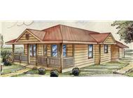Main image for house plan # 9457