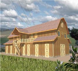 House Plan #132-1480