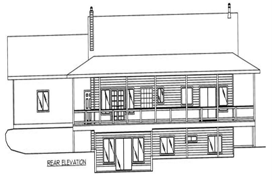 Home Plan Rendering of this 4-Bedroom,4016 Sq Ft Plan -132-1483