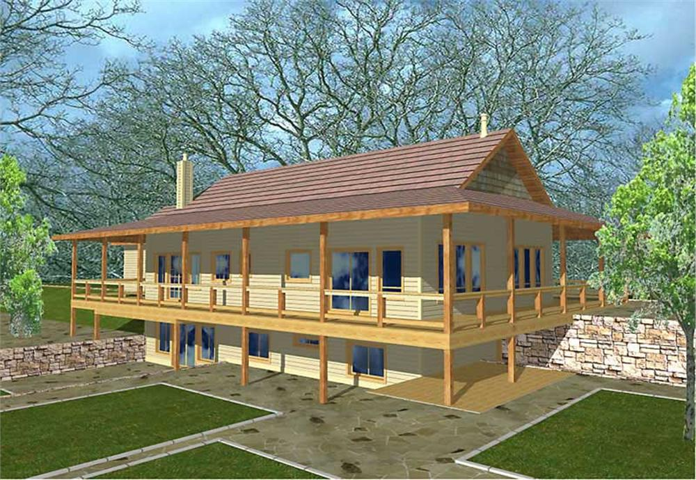 Main image for house plan # 9439