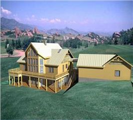 House Plan #132-1484