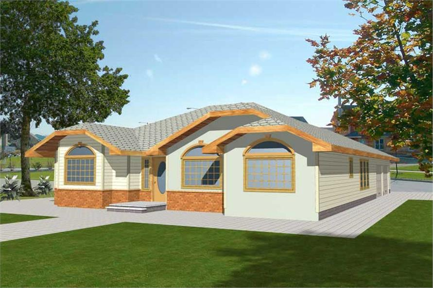 Main image for house plan # 8785