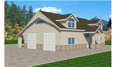 Main image for house plan # 9445