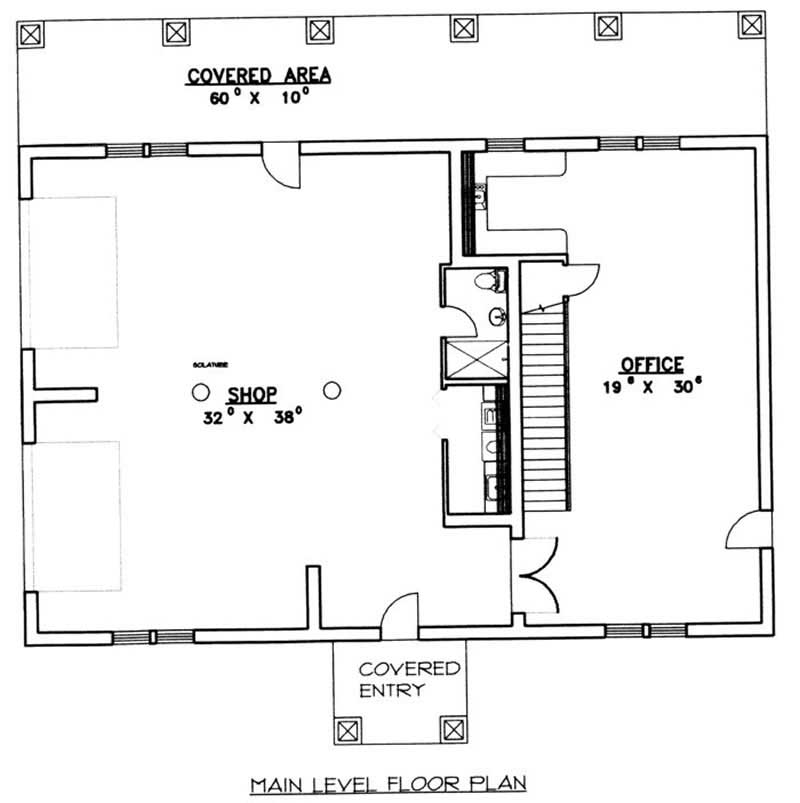 Garage concrete block icf design house plans home design ghd 2075 9445 Story floor plans with garage collection