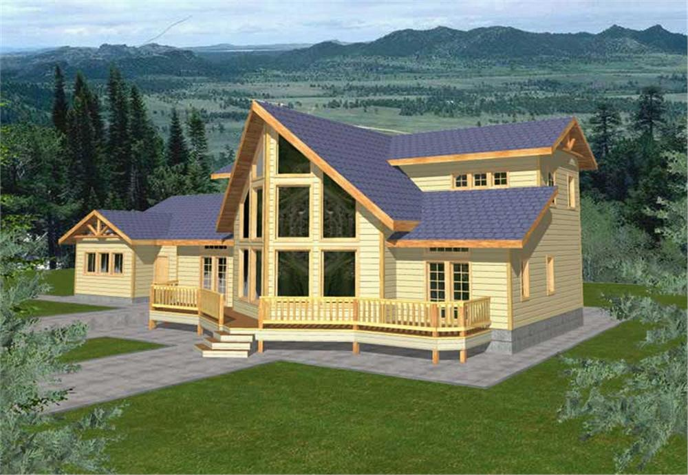 Main image for house plan # 9755