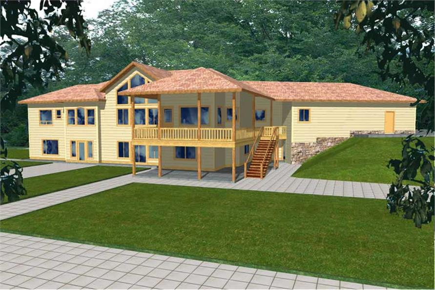 Main image for house plan # 9740
