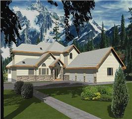 House Plan #132-1500