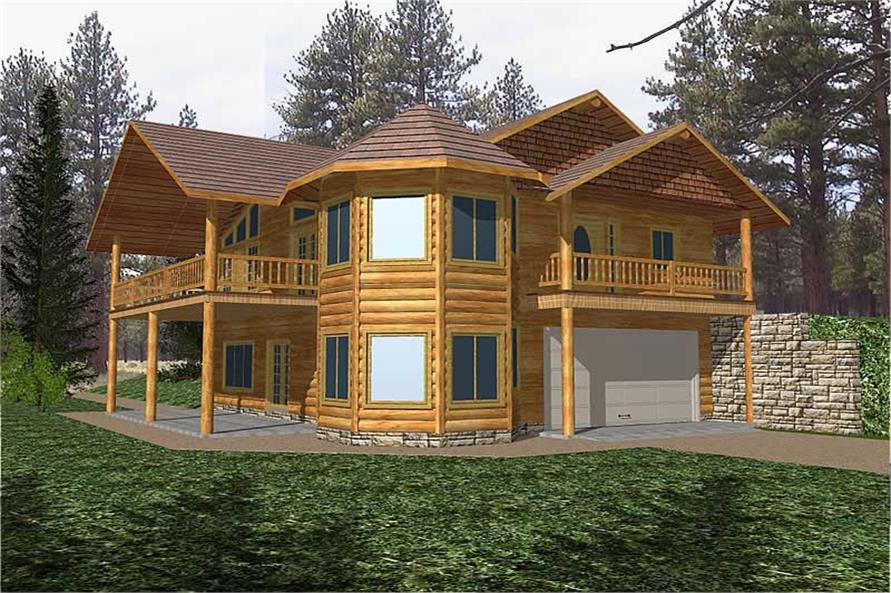 2-Bedroom, 2084 Sq Ft Ranch Home Plan - 132-1502 - Main Exterior