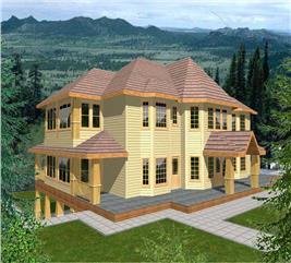 House Plan #132-1507